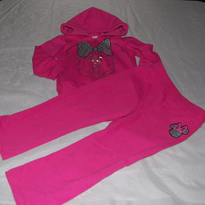 Minnie Mouse Fleece Set
